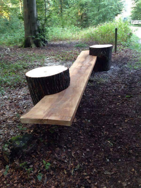 ağaç yapımı mobilyalar 1