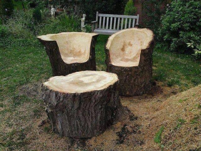 ağaç yapımı mobilyalar 2