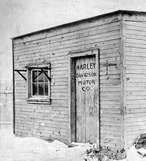 harley--davidsonin-ilk-fabrikasi
