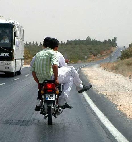 motosiklet komik