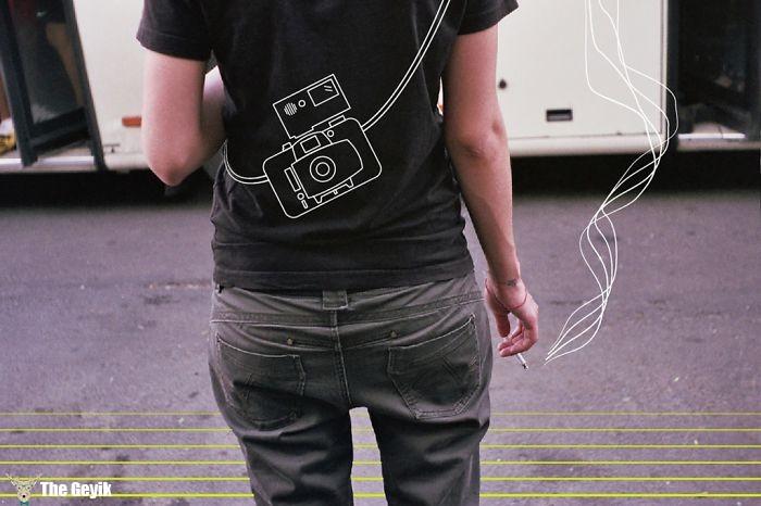 Fotoğrafları minimalist çizimlerle değiştirmek mortin 3