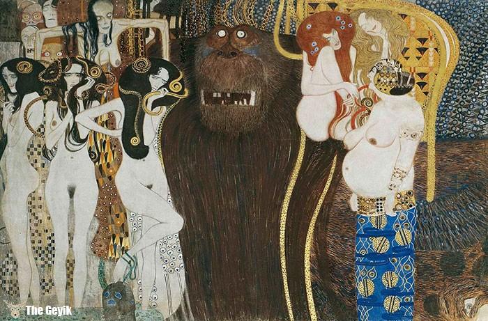 Gustav Klimt'in Erotik Eserleri Canlandı 3