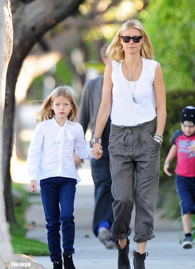 Gwyneth Paltrow ve Apple Martin
