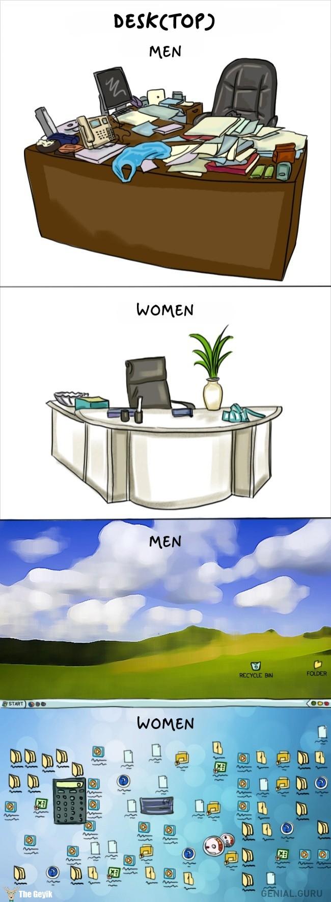 Kadınların 10 ilginç farkı