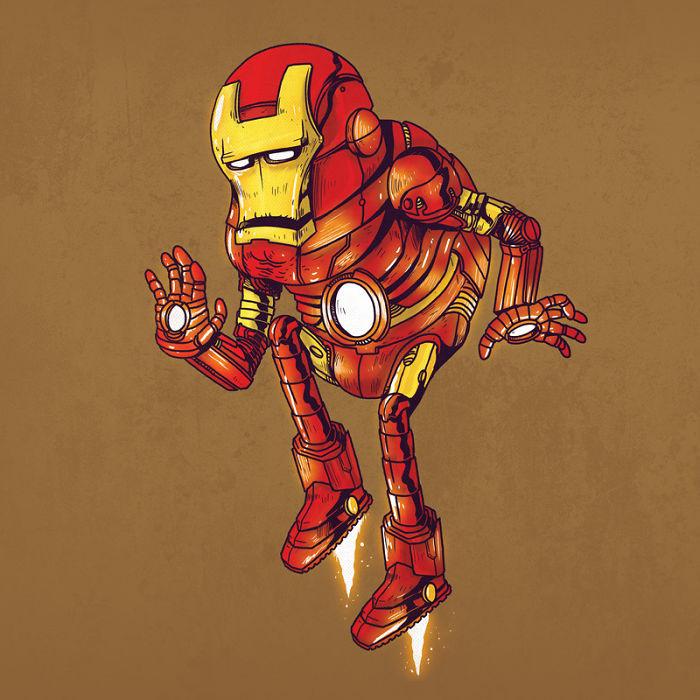 Süper Kahramanlar Yaşlansaydı Nasıl Görünürlerdi?