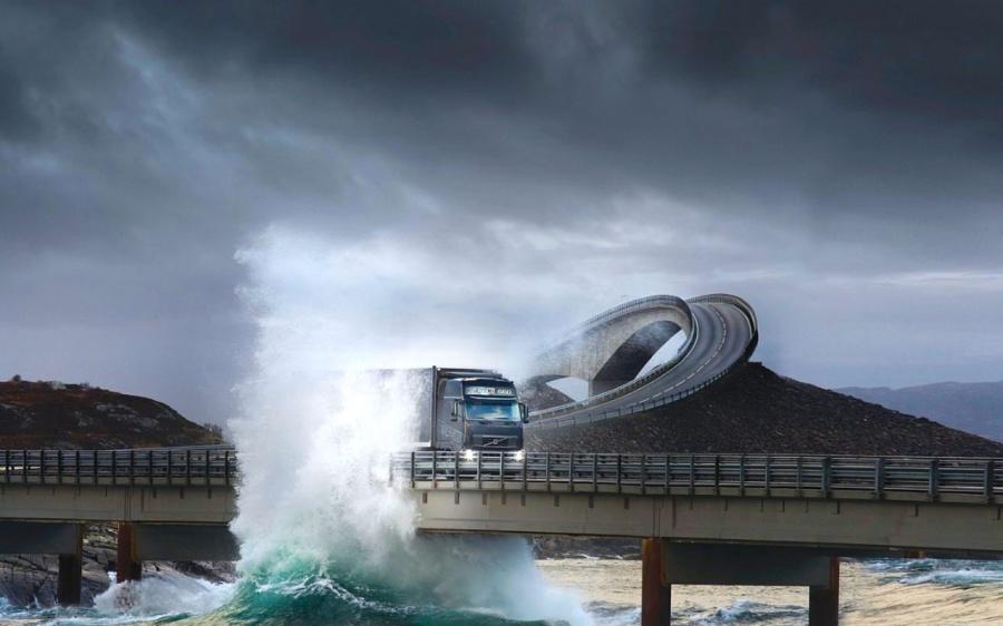 Atlantic Okyanusu Yolu, Norveç