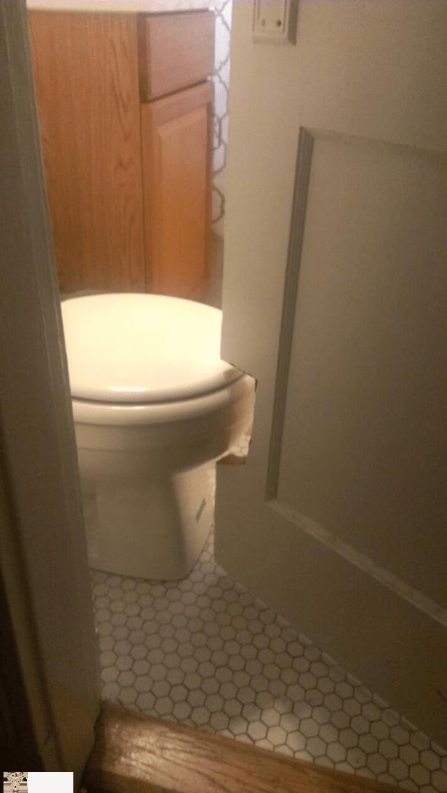 İlginç komik banyo ve tuvaletler 6