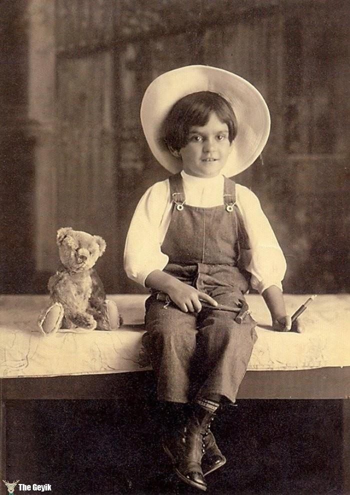 Frida kahlonun çocukluk fotoğrafları 6