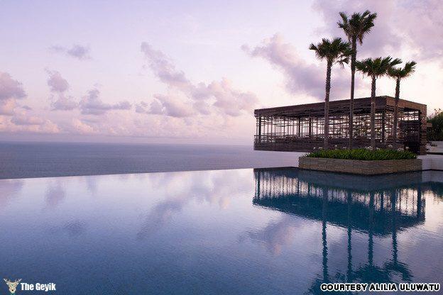 Alila Uluwatu resort in Bali, Indonesia