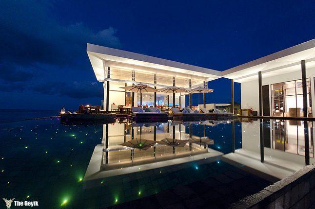 Jumeirah Dhevanafushi resort in the Maldives