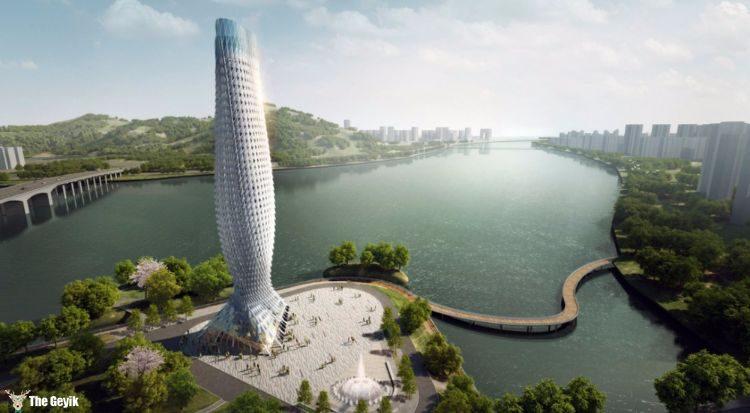 Scaly Tower, Zhuhai (China)